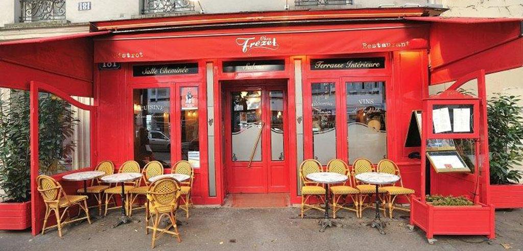 Restaurant bistrot terrasse chez frezet - Table de terrasse restaurant ...