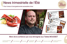 Newsletter du trimestre