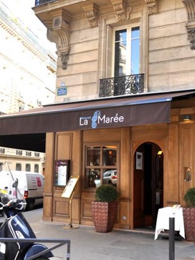 Découvrez le restaurant La Marée