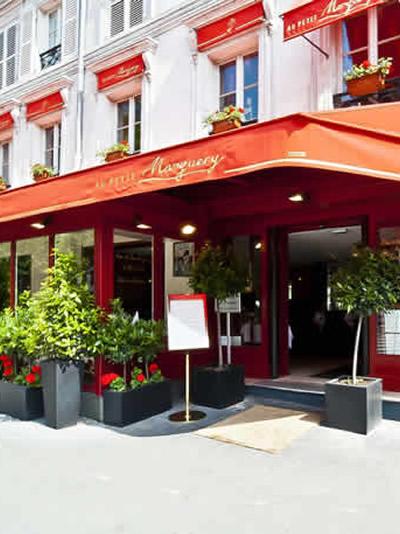 Découvrez le restaurant du Petit Marguery - Rive droite
