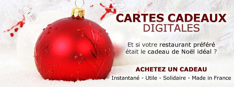 Cartes Cadeaux Digitales - Tables Mousset