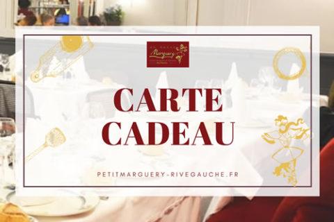 Petit Marguery Rive Gauche - Carte cadeau
